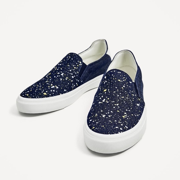 Zara Shoes | Zara Men Sneakers Size 8